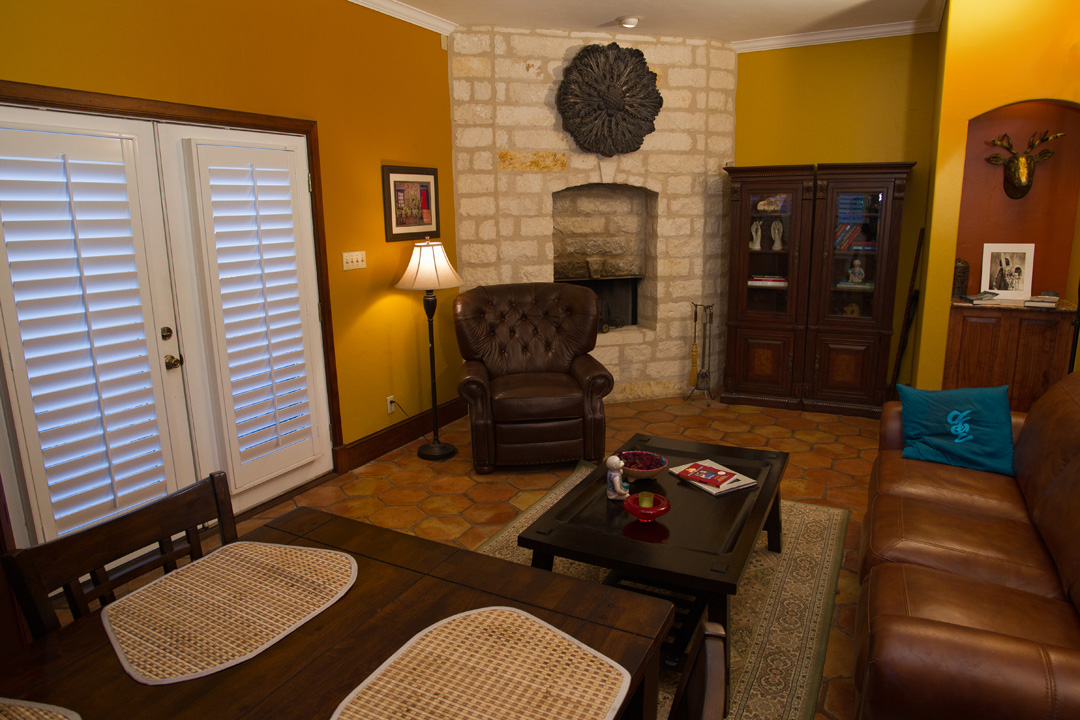 Owner's Retreat Dining & Living Area